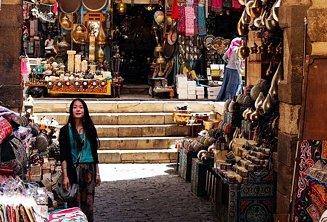 Khan-el-Khaliali bazaar walking tour
