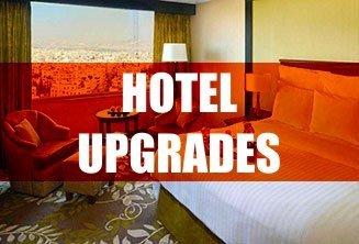 Superior suite upgrade