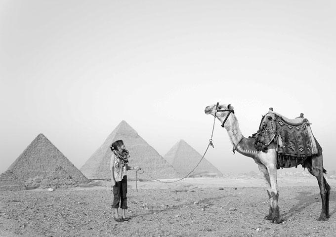 Me Ra Koh in Egypt