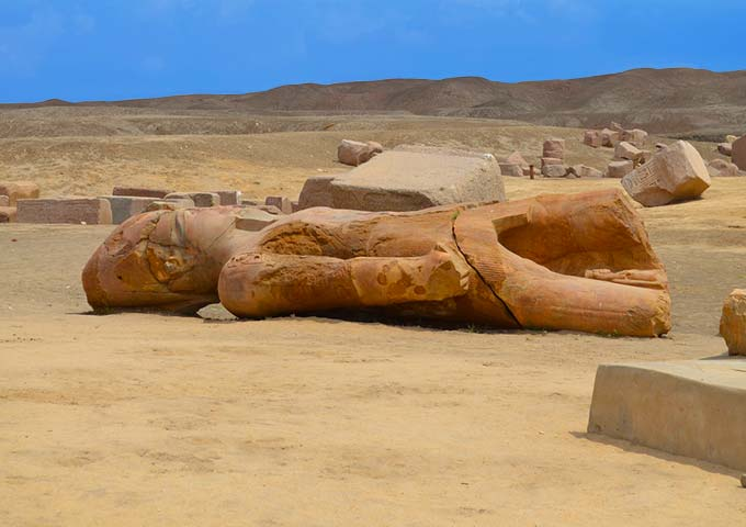 Ancient Tanis, Egypt