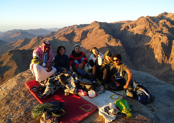 Sunrise on Mount Sinai, Egypt