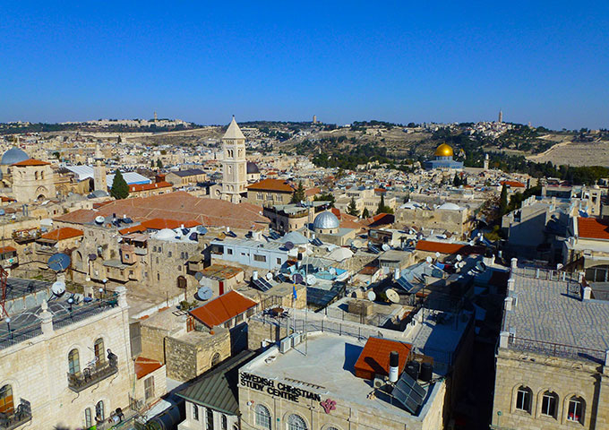 View over Jerusalem, Israel