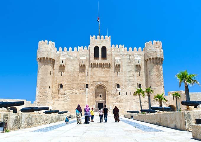 Qaitbey fort, Alexandria Egypt