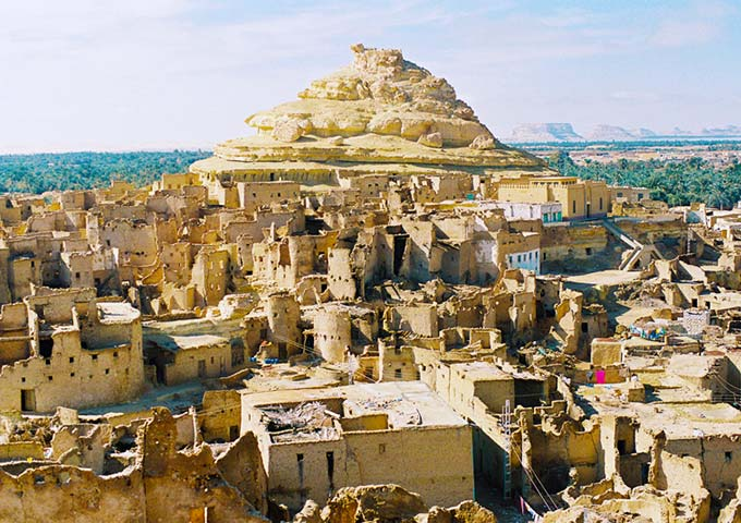 Old city, Siwa Oasis, Egypt