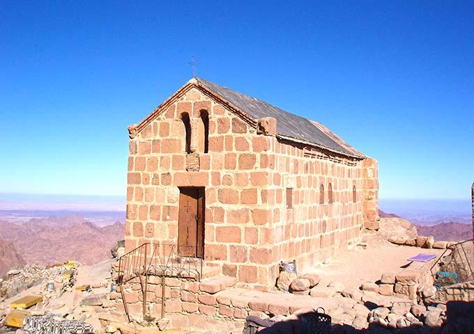 Summit of Mount Sinai, Egypt