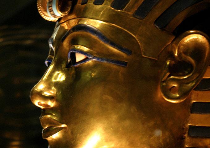 Tutankhamun's gold mask