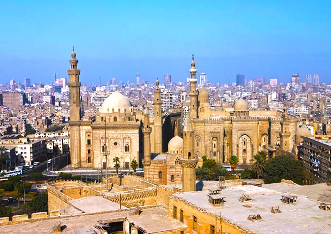 View over Cairo, Egypt