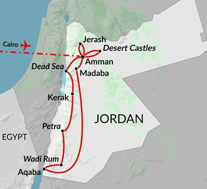 Pyramids and Jordan